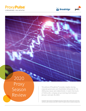 2020 Proxy Season Review