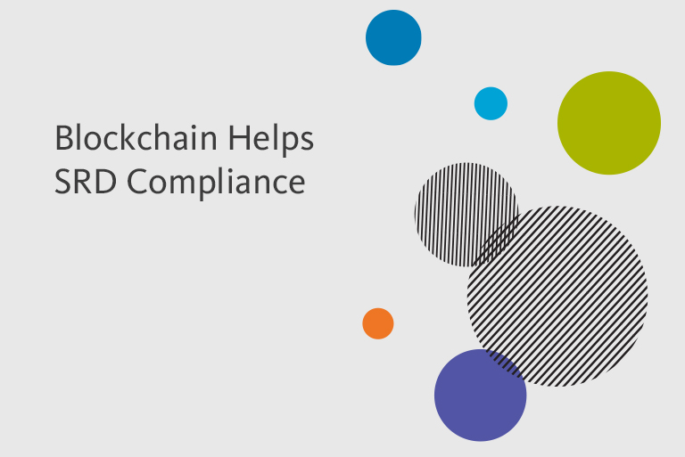 Blockchain Simplifies SRD Compliance