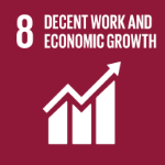 UN Decent Work and Economic Growth image