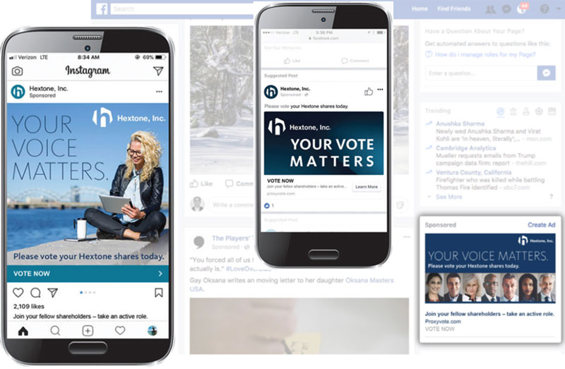 Give your next vote the social media advantage