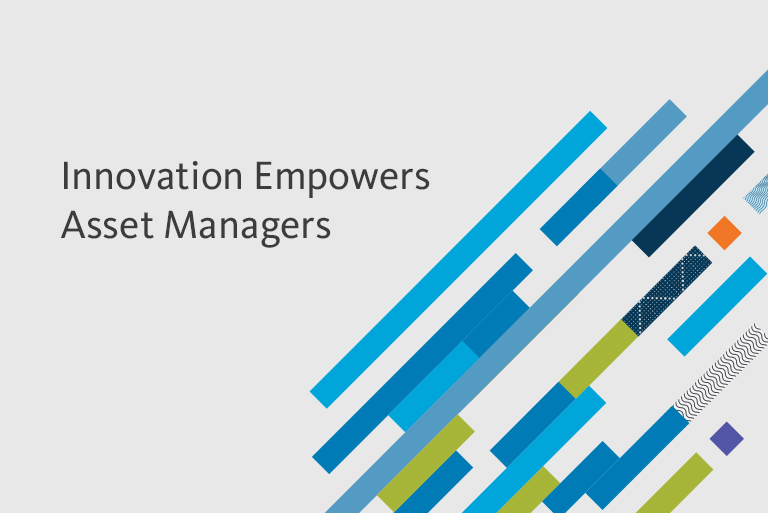 Innovation Empowers Asset Managers