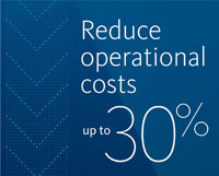 Reduce operational costs