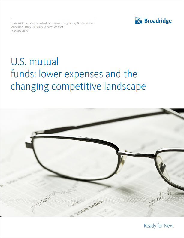 Mutual Funds: Lower Expenses and a Competitive Landscape