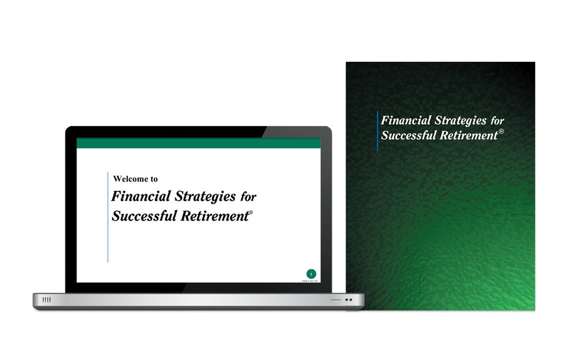 Financial Strategies for Successful Retirement educational financial seminar system
